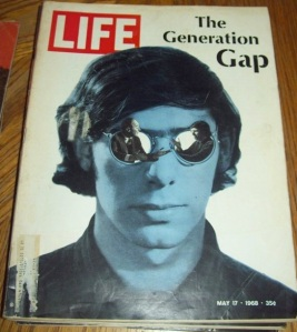 """Just make sure the kid on the cover's wearing sunglasses. If I can't see your eyes, that means you're entitled! Hippies..."""