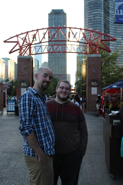 We met Andrew and Janae at Navy Pier our first evening in the city.