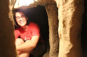 St. Louis has one of the coolest museums ever! To get anywhere you have to crawl through or climb in caves or tubes or anything you would ever imagine! We were a little too big but still had a lot of fun!