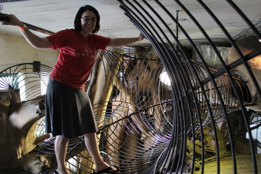 Note: Don't go to The City Museum in a skirt!