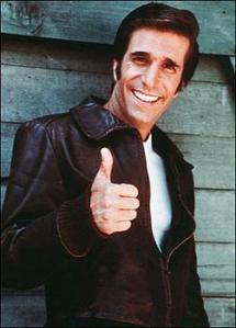 For some quick confidence, just conjure up your inner-fonz. Eeeh!