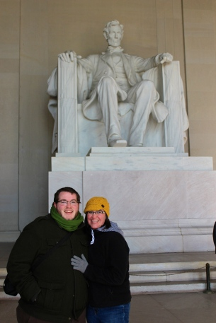 Us with Lincoln!