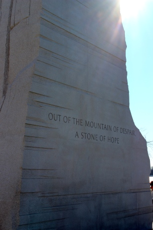 Inscription on the side.