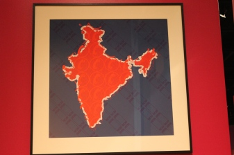 And wouldn't you know it? There was an exhibit about India!