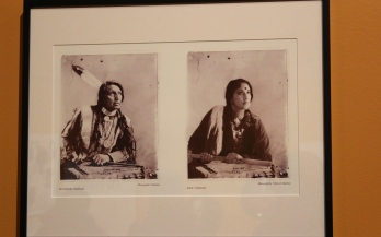 "This is a photo project an Indian woman did to highlight the differences between Native American ""Indians"" and actual Indians. The confusion of names is a source of frustration for Indian Americans."