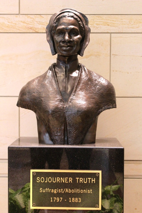 Sojourner Truth in the Capitol