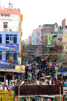 Old Delhi #chaos