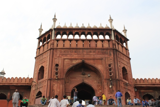 A beautiful mosque called Jama Masjid