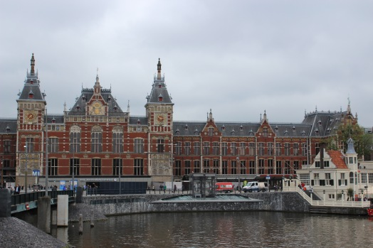 Centraal Station - when you have to go to on train station over and over again, at least it's this pretty!