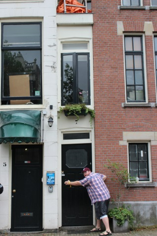 The narrowest house in the world!